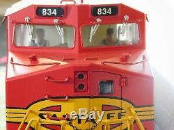G Gauge Diesel Nib Train Moteur Dash 8 Santa Fe Rail Roi Une Jauge New W Livre