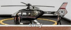 Hélicoptère D'exploitation De L'immeuble De Menards One Police Plaza! O Échelle De Jauge