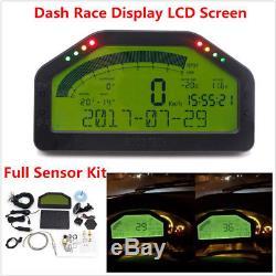 Jauge D'écran LCD De Kit De Capteur Complet De Capteur Bluetooth Complet De Capteur De Course Universelle Pour Tableau De Bord