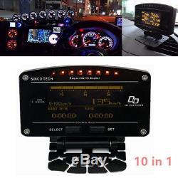 Kit Advance DD 10 En 1 Temp. Boost Temp. D'essence Manomètre Egt Compteur Kilométrique