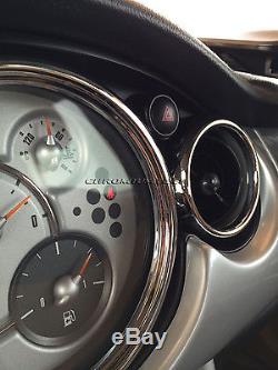 Kit Cadran Intérieur Chromé Pour Bmw Mini Cooper 2001/2006 / S / One R50 R52 R53 25pc