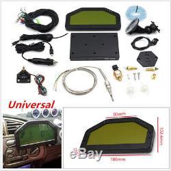 Kit Complet De Capteur Bluetooth Pour Tableau De Bord LCD De Rallye Avec Indicateur De Course De Jauge LCD