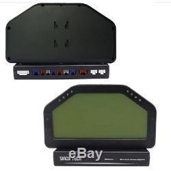 Kit Complet De Jauge De Rallye De Capteur Bluetooth D'affichage De Tableau De Bord De Course LCD