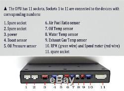 Kit De Capteur Bluetooth D'affichage De Tableau De Bord D'affichage À Cristaux Liquides De Voiture Suv De Tableau De Bord De Rassemblement
