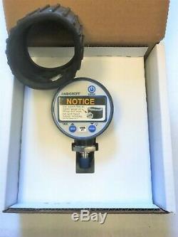 Le Dernier! Manomètre Ashcroft Digital Dg2551l0nam02l600 30/0 / 600psi Nouveau
