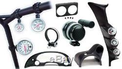 Le Tableau De Bord 5-calibre Autometer 55-56 Chevy Cars Convient À Un 3-3 / 8po Tach Et Quatre 2-1 /