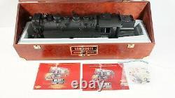 Lgb Aster One Gauge Hsb 2-10-2 Steam Engine Limited Edition Set 20811 W Cas Nouveau