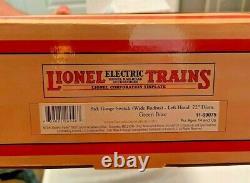 Lionel/mth Standard Gauge Main Gauche 72 Large Radius Switch Nib Dernier One