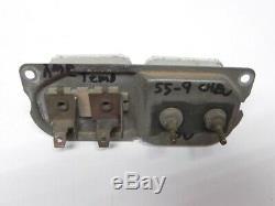 Lot 1955-56-57-58-59 Chevrolet Truck Dash Gauge Nos Et Pièces De Rechange D'occasion 2 Temps One Amp