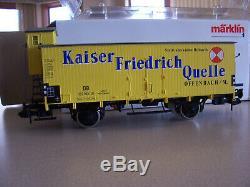 Märklin 5427 1 Gauge Voiture Kaiser Friedrich Fret New Etat Boîte D'origine