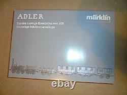 Marklin Gauge Un-150ans Anniversaire Set Der Adler 12vdc 2rail- Newithboxd-c1986