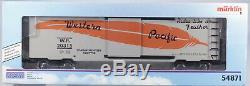 Märklin Maxi One Gauge # 54871 Wagon De Marchandises Us Du Pacifique Occidental, Nouveau Dans La Boîte Des Années 1990