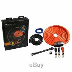 Memphis Audio 0gpwkit 0-gauge Power Kit Avec Anl Porte-fusible Et Un Fusible 250a