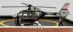 Menards O Calibré Une Police Plaza Construire Avec Préconstruits Hélicoptère Animé +