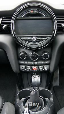 Mini Cooper / S / One F55 F56 F57 Noir Bagues Intérieures Pour Modèles Witho Navigation XL
