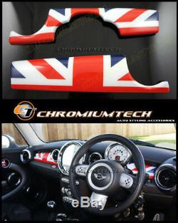 Mini Cooper / S / One Jack Panel Tableau De Bord De L'union Couverture R55 Clubman R56 R57 R58 Lhd