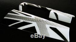 Mini Cooper / S / Un F55 F56 F57 Blanc Union Jack Tableau De Bord Panneau De Garniture Couverture Lhd