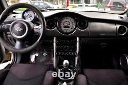 Mk1 Mini Cooper/s/one R50 R52 R53 Carbon Fibre Look Interior Dashboard Trim Kit