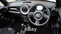Mk2 Mini Cooper / S / One / Jcw R55 R56 R57 R58 R59 Noir Intérieur Tableau De Bord Anello