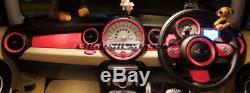 Mk2 Mini Cooper / S / One / Jcw R55 R56 R57 R58 R59 Rose Kit Anneau Intérieur Rose