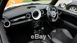Mk2 Mini Cooper / S / One R55 R56 R57 R58 R59 Blanc Tableau De Bord Intérieur Kit Bague