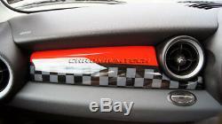Mk2 Mini Cooper / S / One R55 R56 R57 R58 R59 Jcw Style Panneau Tableau De Bord Couverture Rhd