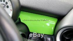 Mk2 Mini Cooper / S / One R55 R56 R57 R58 R59 Vert Tableau De Bord Panneau De Garniture Couverture Rhd