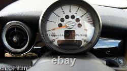 Mk2 Mini Cooper/s/one R55 R56 R57 R58 R59 Black Dashboard Panel Trim Cover Rhd