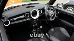 Mk2 Mini Cooper/s/one R55 R56 R57 R58 R59 White Dashboard Intérieur Anello Kit