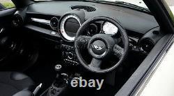 Mk2 Mini Cooper/s/one/jcw R55 R56 R57 R58 R59 Black Dashboard Kit D'anneau Intérieur