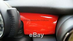 Mk3 Mini Cooper / S / One / Jcw F55 F56 F57 Rouge Tableau De Bord Panneau De Garniture De Couverture Pour Lhd