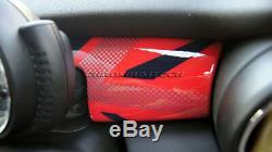 Mk3 Mini Cooper / S / One / Jcw F55 F56 F57 Union Jack Red Panneau De Couverture Tableau De Bord