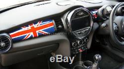 Mk3 Mini Cooper / S / One / Jcw F55 F56 F57 Union Jack Tableau De Bord Panneau De Garniture Couverture Lhd