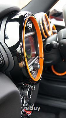 Mk3 Mini Cooper / S / Un F55 F56 F57 Orange Intérieur Anneaux Pour Les Modèles XL Witho Médias