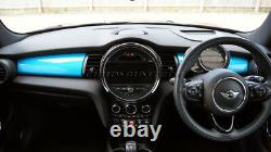 Mk3 Mini Cooper/s/one/jcw F55 F56 F57 Blue Dashboard Panel Trim Cover Lhd