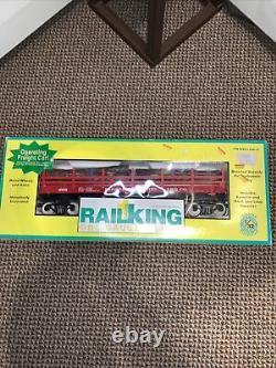 Mth Rail King 70-79006 Pardee & Rideau Exploitation Voiture Plate Nouveau G / One Gauge