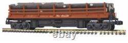Mth Railking 70-79002 Rio Grande Voiture En Rondins D'exploitation Neuve Dans La Boîte G One-gauge