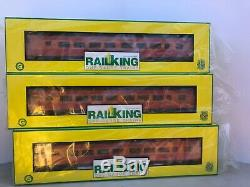 Mth Railking One-gauge Voiture De Tourisme Southern Pacific Daylight 3 Cars Sp 1/32