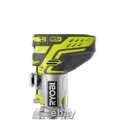 Nailer Sans Fil Brad Sans Fil 18 Volt One+ 18-gauge Avec Des Outils De Routeur De Base Fixe Seulement