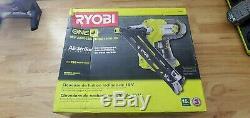 Neuf Ryobi 18 V One + P330 Sans Fil Airstrike 15-gauge Angulé Gun Nail