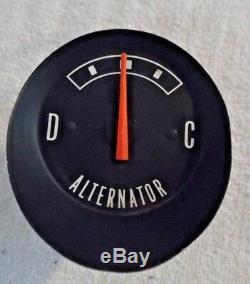 Nos Nouveau Oem Challenger Standard Dash Ampli Alternateur Manomètre 1970 Un An Seulement