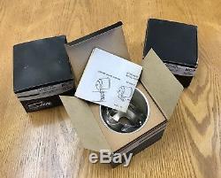 Nos Sun Super Tachometer Nc-5 Coupelle De Montage Chromée Nib Un Seulement 3 En Inventaire