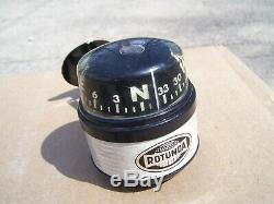 Nos Vintage 1960' Rotunda Accessoires Ford De Fomoco Auto Mustang Jauge Compass