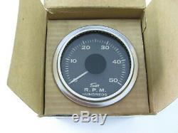 Nos Vintage Sun Tachymètre It-5000 RPM 12v 4051 One Piece Dans La Boîte Originale
