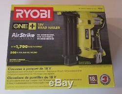 Nouveau Cloueur Sans Fil 18gg Ryobi P320 18v One + Air Strike De Calibre 18 (18ga) (outil Seulement)