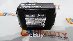 Nouveau Deux (2) 2 Batteries Li-ion Makita Bl1850b 18v Lxt 5,0 Ah Avec Jauge À Carburant Une Paire