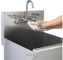 Nouvelle Jauge Acier Inoxydable One Compartment Commercial Utility Sink 18x 18 X 13