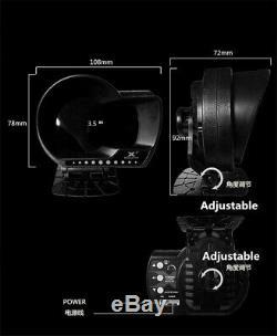 Obd2 Multi-fonctionnelle Voie Métrique Boost Pression Afr Eau / Huile Temp Système D'alarme