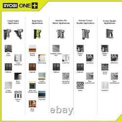 One+ 18v Sans Fil Airstrike 18-gauge Brad Nailer Avec One+ 18v Sans Fil Outils