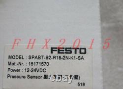 One Brand New Festo Manomètre Numérique Spabt-b2-r18-2n-k1-sa
